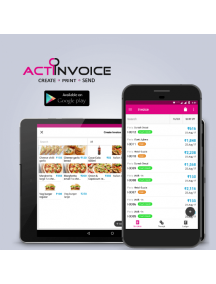 Actiinvoice (Android Version) Free GST Invoice & Billing Application