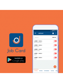 JobCard (Android Version) Best Job Card Management & Workshop App