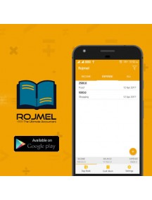 Rojmel (Android Version) Best daily accounting mobile app