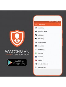 Watchman-Know Your Team (Android Version) Free Employee Monitoring & Activity Tracker App